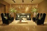 Sofás de cuero de lujo clásico del sofá de Chesterfield