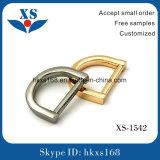 """Inarcamento dell'anello a """"D"""" del metallo di modo per la borsa"""
