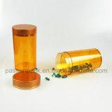 Bouteille ambre de médecine d'animal familier d'injection pour l'empaquetage d'huile de poisson (PPC-PETM-017)