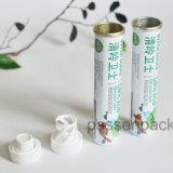 Tube solide en aluminium de luxe pour comprimés effervescents
