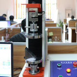 Máquina extensible y del alargamiento de la prueba para la prueba extensible plástica de goma