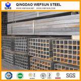 ERW Q195 Q235 Q345 quadratisches Stahlrohr für Aufbau