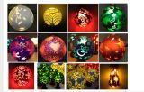 Éclairage LED de décoration de vacances/lampe, belle couleur
