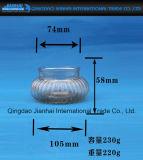 Supporto di candela creativo della cristalleria di figura con il reticolo del diamante