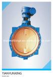 Клапан-бабочка диска отливки CF8m двухвальная/стержнем ая