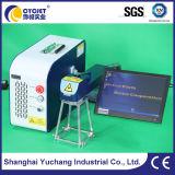 Bewegliches Handlaser-Markierungs-Maschinen-Drucken auf Gummigummireifen