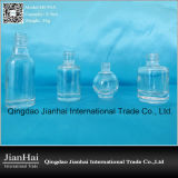 Transparente Glasware-kosmetische Nagellack-Flasche