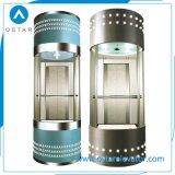 Cabina de cristal competitiva del elevador del precio 800kg para la elevación de la observación (OS41)