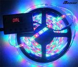Indicatore luminoso di striscia flessibile di 5V 8806lpd Digitahi RGB LED