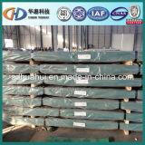 Tôle d'acier ondulée utilisée sur la construction