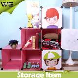 Einfache Plastikart-beweglicher vielseitiger faltbarer Kind-Ablagekasten