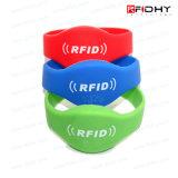 Bunter MIFARE Ultralight RFID SilikonWristband des neuen Entwurfs-