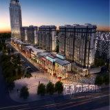 Rendendo centro commerciale del centro di attività commerciale il grande ad alto livello
