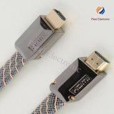 HDMI 2160p кабель с кабелем Ethernet Позолоченные 4k HDMI