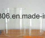 Abat-jour clair de cylindre en verre de Pyrex