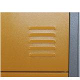 Armadio di memoria delle forniture di ufficio del metallo dei 12 portelli