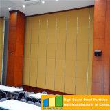 Partición de la oficina, pared operable plegable para la sala de reunión