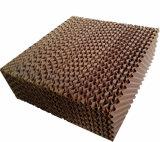 Almofada refrigerar evaporativo com papel ondulado da fibra