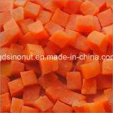 A cenoura Frozen de IQF corta