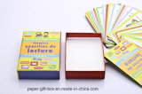 Бумажная коробка с играя карточками
