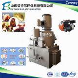 中国の熱い販売のコンパクトなガーベージの構成の焼却炉の製造