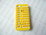 Abacus Colorful Cell Phone Silicone Cases Cover for iPhone (BZPC007)