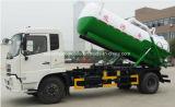12000 L precio del carro del tanque de vacío de la succión 4*2 de las aguas residuales