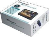 """Jogo sem fio longo da câmara de vídeo DVR da segurança da transmissão 5.8g da escala mini (90 graus VOA; 16 CHs; 0.008lux; 5 """" HD DVR; O movimento deteta; 32G)"""