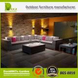 Rattan-Sofa-gesetztes im Freien Möbel-Schnittsofa-gesetzte Garten-Möbel