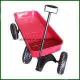 De groene Kruiwagen van /Wheel van de Kar van het Stuk speelgoed van de Jonge geitjes van de Kleur