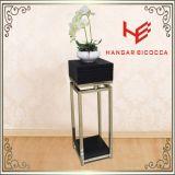 옆 테이블 (RS162402) 현대 가구 커피용 탁자 차 대 스테인리스 가구 홈 가구 호텔 가구 테이블 콘솔 테이블 탁자 꽃 탑