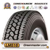 Neumático 11r22.5 11r24.5 del neumático TBR del carro de Longmarch Roadlux