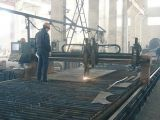 Poste revestido del acero de la energía eléctrica del polvo