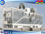 Het modulaire Huis van de Villa/PrefabHuis met de Lichte Structuur van het Staal (flm-h-022)