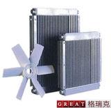 Drehschrauben-Kompressor-Luft-Kühlvorrichtung