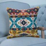 Ammortizzatore/cuscino decorativi della stampa di Digitahi con il reticolo geometrico di Ikat (MX-05D/E/F/G/H/I)
