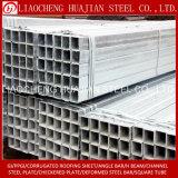 Q235 geschweißtes heißes BAD galvanisiertes quadratisches Gefäß mit ISO