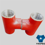 D'acciaio Confinare-Welding Seamless Pipe Fitting Tee (ss)