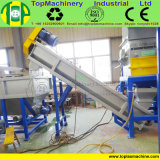 Película excelente do LDPE da qualidade que recicl a linha para esmagar a película de secagem de lavagem da exploração agrícola com arruela de flutuação