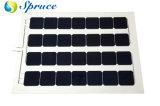 Semi Flexible Monocrystaline PV Solar Panel (147W Transparent Type)
