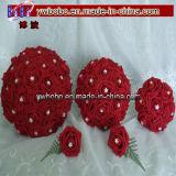 Le bouquet Diaman Terhine de mariage de décoration de mariage lapide l'équilibre en cristal (W1009)