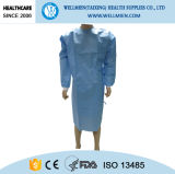 Alcool e Blood Repellent Reinforced Sterile Surgical Gown