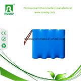 3.7V rechargeable 7800mAh 1s3p 18650 packs batterie pour médical