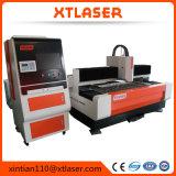 автомат для резки лазера Jinan высокой точности лазера волокна 500W миниый для алюминиевой плиты