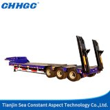 La Cina Factory Tri-Axle 40FT Utility Low Bed Trailer