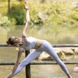 Vestiti bianchi Comfy molli di usura di yoga della maglia