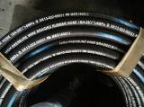 4sh 1-1/2 38mm s'est développé en spirales le boyau hydraulique en caoutchouc