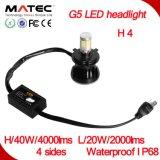 Linterna excelente del lumen H7 LED de la calidad 56W 5000 de las ventas calientes
