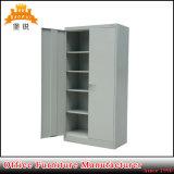 Cabinet de bureau / armoire de bureau en métal / armoire de rangement avec 4 étagères