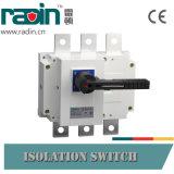 125A, 160A, 200A, 250A, 315A, 400A, 500A, interruptor de rotura de carga 630A/interruptor de la carga del cambio